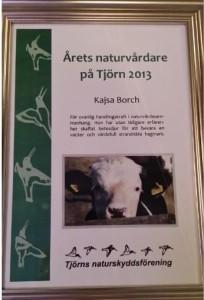 Årets naturvårdare 2013